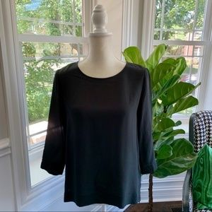 Madewell Silk Retrospect Blouse / Size Large
